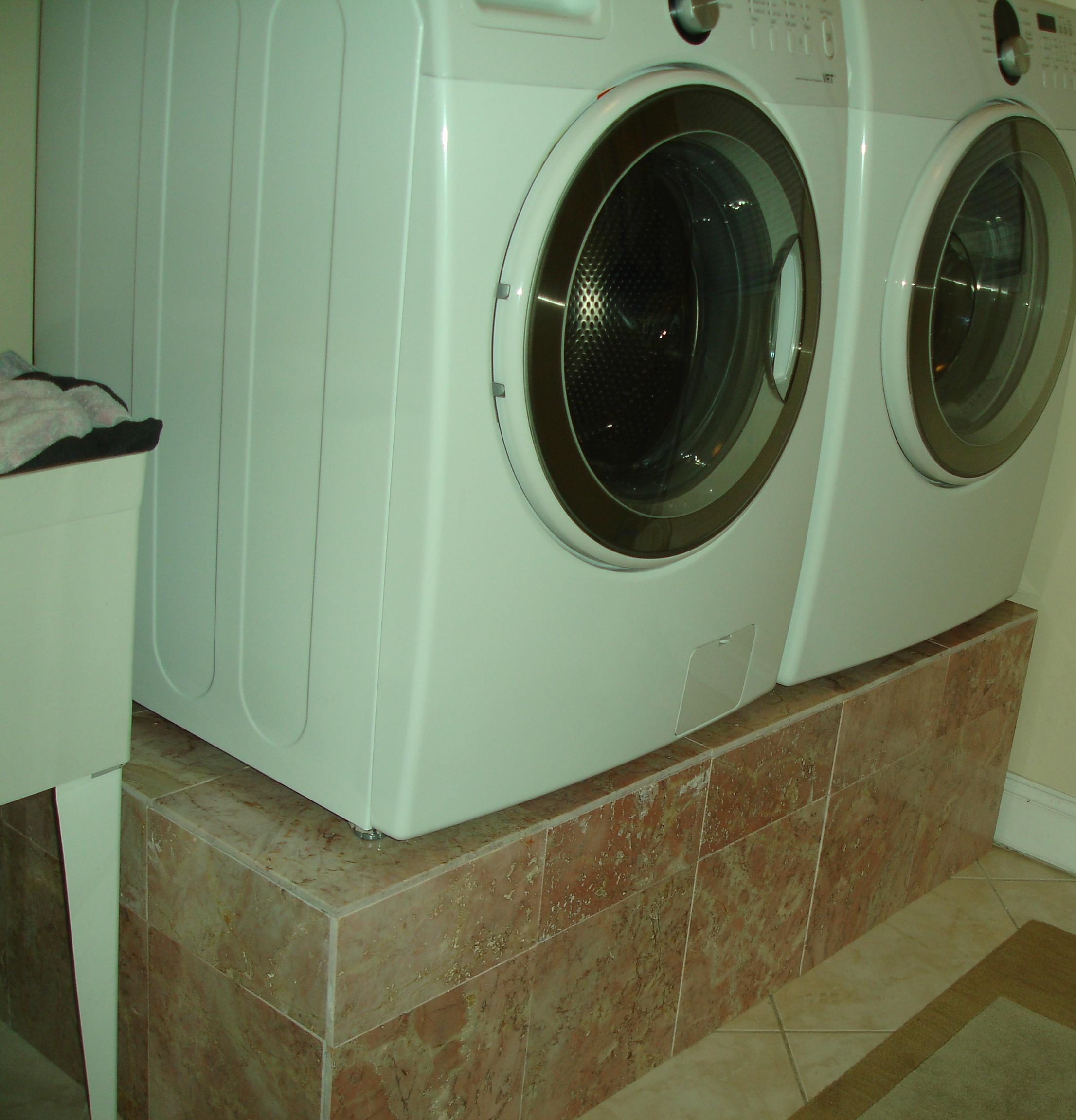 custom pedestals white projects ana and pedestal diy to dryer nifty appealing washer laundry dk